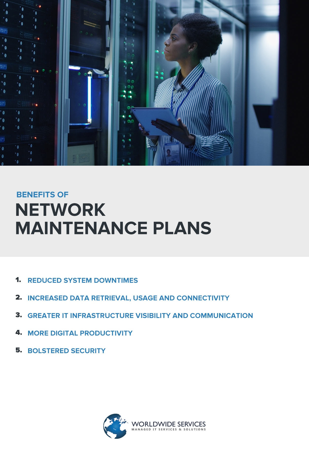 benefits of a network maintenance plans