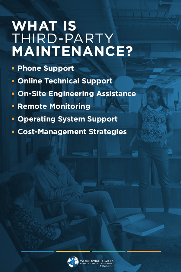 What are the elements of Third party maintenance