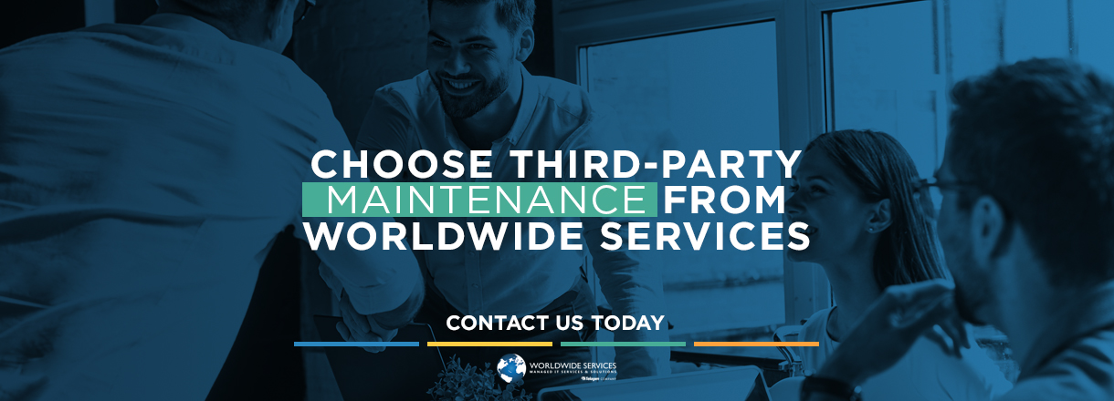 Work with a Third party maintenance company