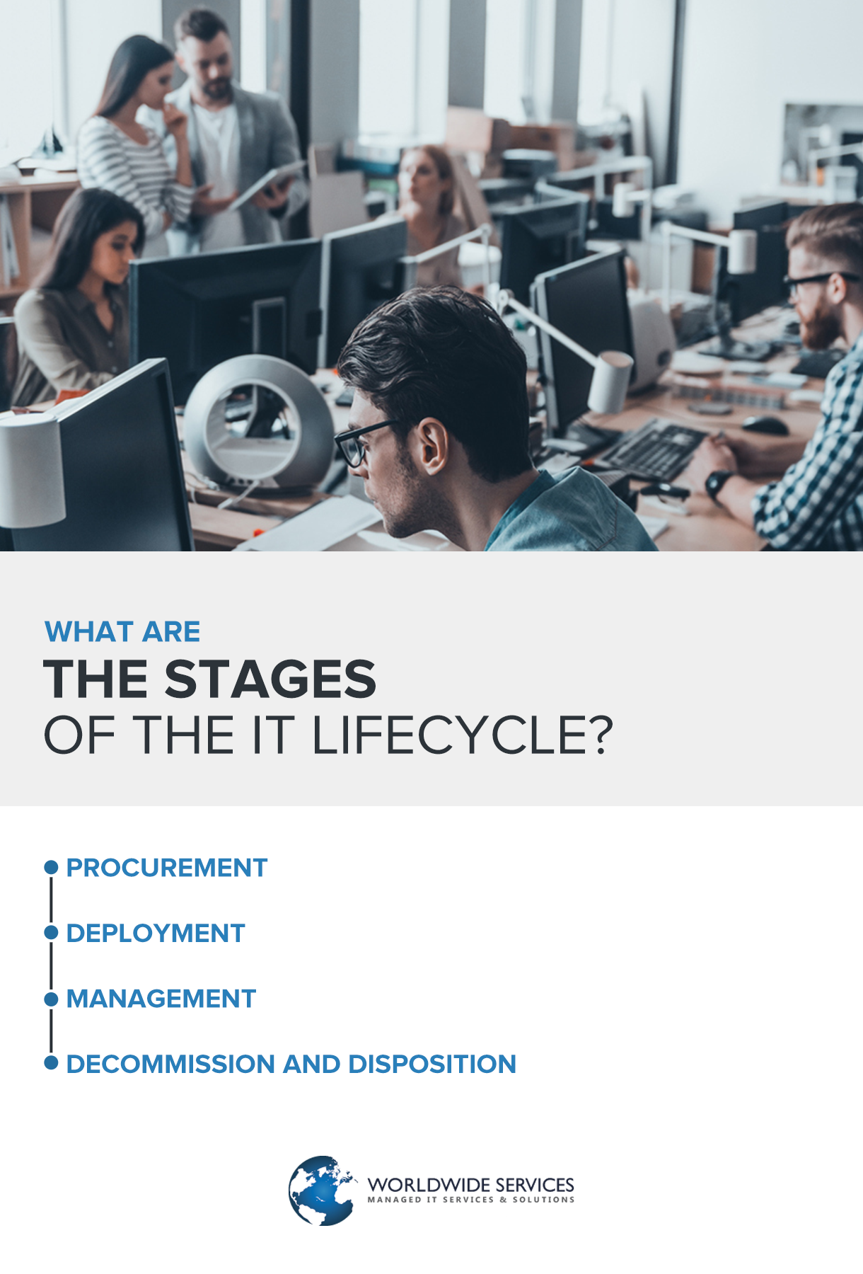 stages of the IT lifecycle