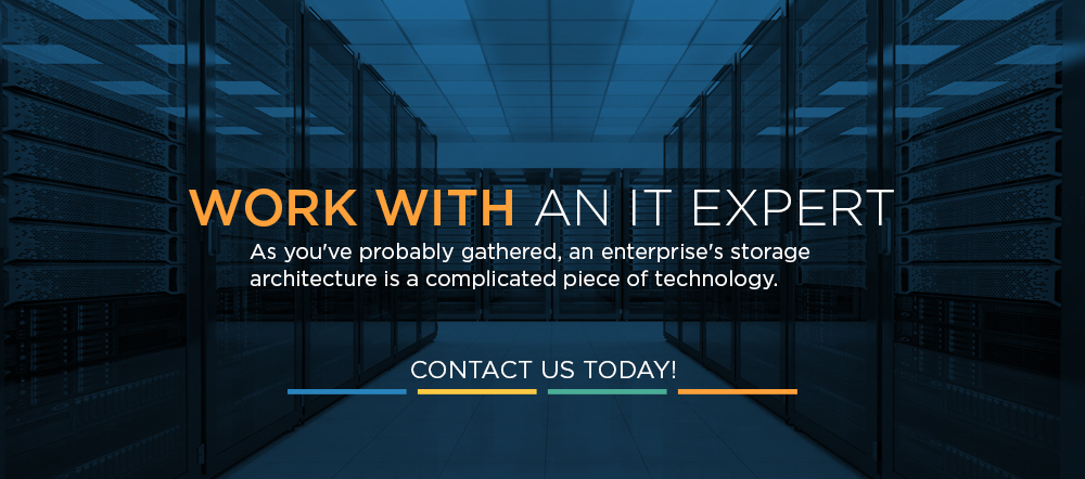 work with an IT expert