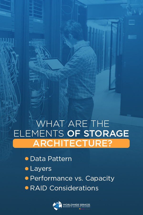 elements of storage architecture