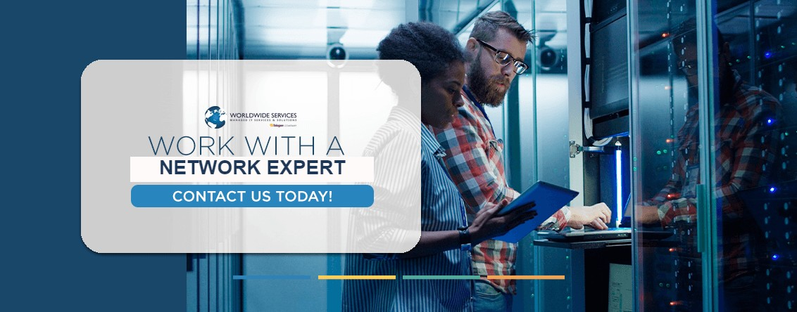Work with a network expert
